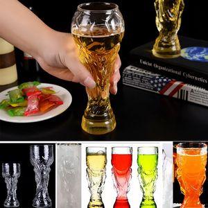 Кубок мира по бокалам для вина Пивные кружки Виски из стекла 350 мл и 450 мл Ночной клуб Бар Пивные кружки Wine Cup 2019 Кубок мира по России DHL Ship AN2279