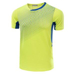 Suit Treino Desportivo de manga curta Roupas Masculino peteca de secagem rápida de tênis roupas masculinas peteca roupa do verão