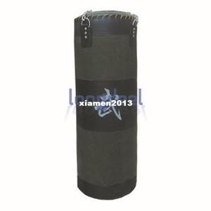 60Lb 35 '' Army Green Fitness Training Unfilled Boxing Saco de arena Bolsa de arena Sand Punch Bag (Vacío) Cadena de metal Envío gratis