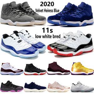 Diseñador zapatillas de deporte Alta calidad air jordan 11 Space Jam 2018 La mejor calidad Bred Gama Azul zapatillas de baloncesto Hombres 11 Concord 72-10 Leyenda Azul Cool Gris