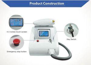 Machine de laser de commutateur de ND Yag Q d'écran tactile de 1064nm 532nm 1320nm pour l'équipement de retrait de pigment de sourcil de tatouage de rajeunissement de la peau