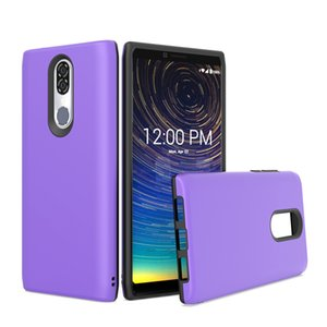 For Coolpad Legacy Motorola G7 SPUAR POWER E5 PLUS SPURA X5 2 In 1 Design Protector PC Soft TPU Shockproof Scratch Resistant Glossy Case