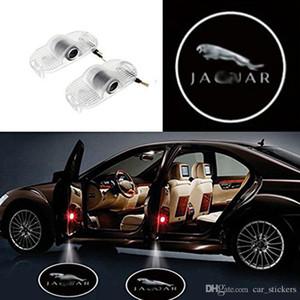 2x feux de porte de voiture pour Jaguar XJ XJL 2013-2015 LED Laser Door bienvenue Shadow Projector Lights