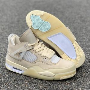 2020 Nuovo liberato 4 SP WMNS vela bianca scarpe da basket migliore qualità IV Sail mussola bianca Trainer Sport Sneaker Size US7-13