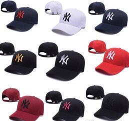 2019 yeni Casquette NY Uzun ağzına Snapback kemik masculino baba şapka klasik Güneş şapka ilkbahar yaz moda Golf açık hava spor beyzbol şapkası kapaklar