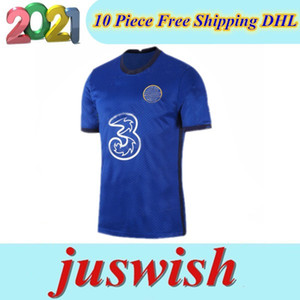 Thailand WERNER PULISIC KANTE ABRAHAM MOUNT ZIYECH maillot soccer jerseys 2020 2021 maillot de foot shirt 20 21 MEN