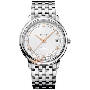 Де Виль 424.10.37.20.02.002 Top Brand Luxury Casual Часы Мужские Бизнес Женевские Часы наручные автоматические механические моды наручные часы Цифровые