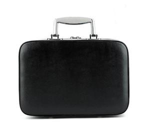 Yeni raflar high-end taşınabilir kozmetik durumda kozmetik çantası taşınabilir klasik logo desen lüks modeli C makyaj organizatör