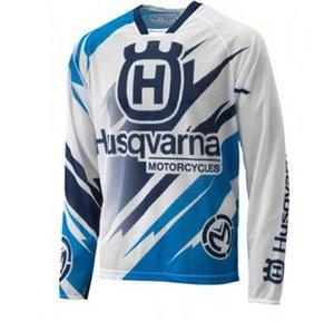 HUSQVARNA 2020 ملابس جديدة في انحدار الدراجة الجبلية الدراجات الملابس ثور بأكمام طويلة تي شيرت سريعة التجفيف أعلى فتل تنفس