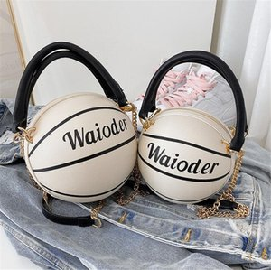 [Bxx] Les femmes single de l'épaule sac à bandoulière All-match Pu cuir grande capacité Tote 2020 Marque Basketball Rivet Sac à main Hi391 # 70135