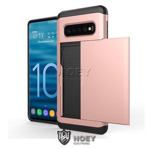 Pour iPhone 11 SGP Faites glisser la carte de crédit Cas de téléphone Cartes de luxe fente portefeuille de couverture pour Samsung S9Plus Note 8 Card Cases Pocket