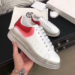 2019 Highest Quality Fashion Luxury Designer Women Casual Shoes Real Leather Sneakers Chaussures Shoes Sports Trainers om19081605