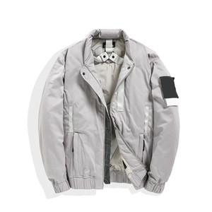 topstoney 2020konng gonng novo outono e inverno casual espessado de algodão moda marca jaqueta puffy jaqueta jaqueta aquecedor