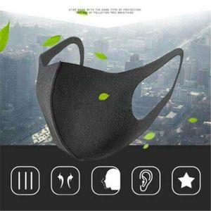 Máscara lavable Earloop Ciclismo anti boca del polvo de la mascarilla de los niveles de seguridad del respirador lavable respirador para evitar que el aire 500pcs
