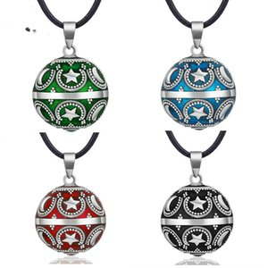 Harmony Ball Moon Star Chime Sound Bola Ball Pendant Necklace Musical Sound Chime Ball for Pregnant Women Jewelry B247