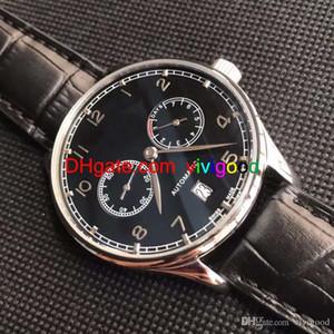 Orologio di lusso Portugieser IW 500705 500703 500704 Automatic Date Mens International Watch Cinturino in pelle Riserva di carica