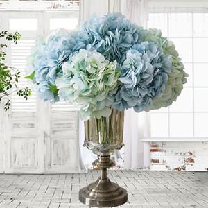 مصطنعة زهرة الفاوانيا المنزل حفل زفاف عيد ميلاد منوعات ValentinesDay الأزهار الديكور الحرير الكوبية إناء الزهور