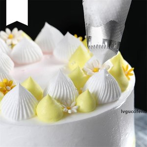 Large Size Square Icing Piping Nozzles Cake Decorating Pastry Tip Sets Fondant Cake Mold Tools Dessert Decorators CT0436