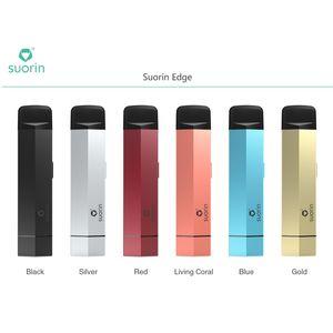 Suorin Edge Case con 2 batterie viene fornito con due batterie rimovibili e un caso per adattarsi Suorin Edge Pod non viene fornito con Pod 100% originale