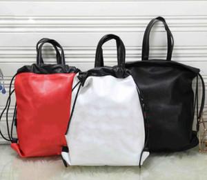Designer Casual Viaggiare Zaino in pelle modo di alta qualità delle donne del sacchetto dello zaino L'uomo di lusso di grande capienza borsa da viaggio String