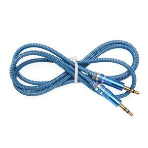 UV Bahar Ses Kabloları 3.5 Jack AUX Ses Kablosu 3.5 MM Erkek Telefon Kablosu Için Erkek Hoparlör MP4 Kulaklık