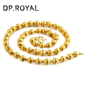 Vietnam Sand Gold Halskette Männer und Frauen Thailand Big Gold Chain Simulation Hex Rohr Thick Halskette
