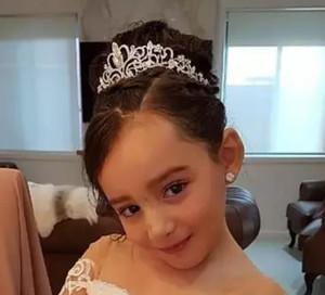 Rhinestones Kız Baş adet Çelenkler Taçlar Çocuklar Ucuz In Stok Düğün Çiçek Kız Saç Aksesuarları AL2020 için ışıltılı Kristaller