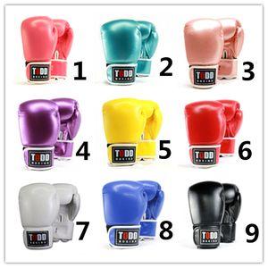 10-14 OZ Boxhandschuh Erwachsene Kinder Professionelle Sanda Kampf mit Boxen Sandbag Fitness-Handschuhe 14 Farbe