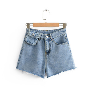 Femmes d'été Denim Jeans Shorts 2020 New Fashion Design Pack taille haute taille Denim Shorts Femme Sexy Shorts Pantalons Nightclub Pantalons Hot