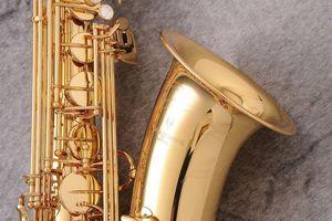 YANAGISAWA T-WO2 New Brass Sassofono Tenore Oro Lacca Bb Sax Professionale B Strumenti Flat con Custodia Spedizione Gratuita
