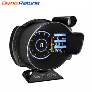 Racing OBD2 Head Up Display Car Digital Dashboard Boost Gauge Speed RPM Water Oil Temp Voltage EGT AFR Car Meter Alarm DO916