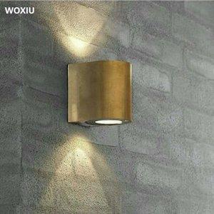 Woxiu Wandleuchten Nordic Moderne Innenbeleuchtung Innen Außen Villa Interiors Dekor Hospitality Design Wasserdichte Doppel-Lichtquelle