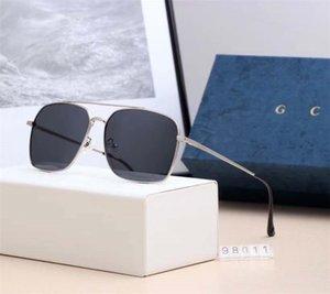 На складе NEW Модный стиль винтаж Пара бокалов Quare ВС очки высокого качества с пакета Box голодает перевозка груза 98011
