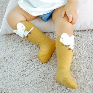 Infant Baby Children's Cute Lovely Cartoon Animal Zoo Socks Cotton Warm Soft Sox Kids Non-Slip Tights Collants Toddler Compression Socks