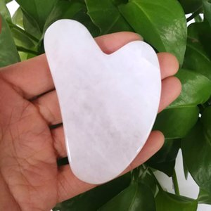 Natural Jade Massager roller stone Scraping Board massagem Slimming facial gua sha Health Care Beauty Roller Massager Tool ZR