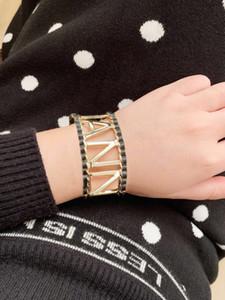 Haben Briefmarken Mode Lederarmbänder Armbänder Frauen-Partei-Hochzeit Liebhaber Geschenk Engagement jewyelry für die Braut mit KASTEN