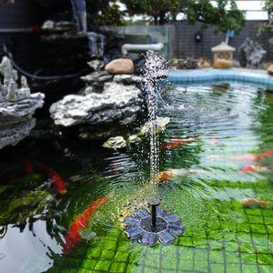 태양 전원 분수 관개 에어 조류 목욕 연못 정원 Oxyge에 대한 8V 1.6W 태양 전지 패널 물 부동 분수 브러시리스 워터 펌프 펌프