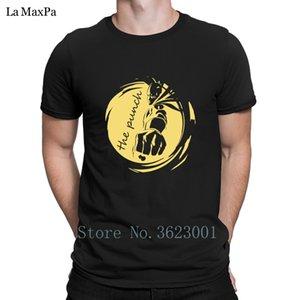 Criatura de la letra T Shirt Hombre The Punch camiseta caballero camiseta de los hombres de la camiseta de moda para los hombres O-Cuello loco