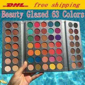 Make-up Lidschatten-Paletten Beauty Glazed 63 Farben Lidschatten Gorgeous Me Palette Beauty Make-up Matte Shimmer Gesichtskosmetik DHL