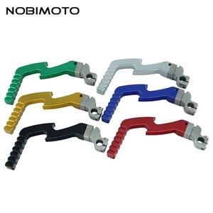 Scossa CNC parti in lega di alluminio avviamento Leva Accessori Moto Ricambi Fit For 50cc-125cc Dirt Bike Bike scimmia 2CNC-115
