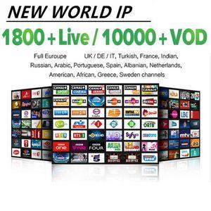 programa de televisión en vivo 10000 + 8000 + VOD para M3U elegante androide TV France EE.UU. Canadá árabe holandés Turquía Australi Alemania España DEMOSTRACIÓN
