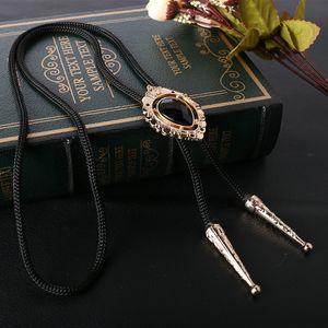 Vintage мужских Tie Cowboy металл Боло связи сплав рубашка Пуаро галстук ожерелье Chian Western Боло галстук Воротник