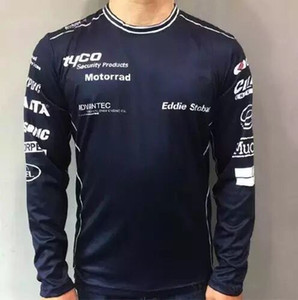 2020 new GP motorcycle quick-drying long-sleeved locomotive round neck T-shirt men's jersey suitable for Jersey