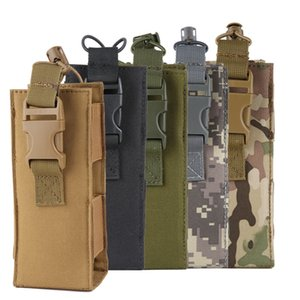 2018 New 600D Tactical Molle Water Bottle Pouch Nylon Military Canteen Cover Holster Outdoor Travel Kettle Bag