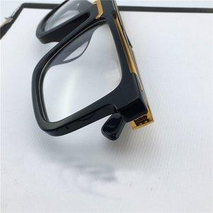 Großhandels-Klassische Vintage quadratische Rahmen Mannentwerfers optische Gläser 0078 Verkaufs popularetro Stil hochwertige transparente Linse Brillen