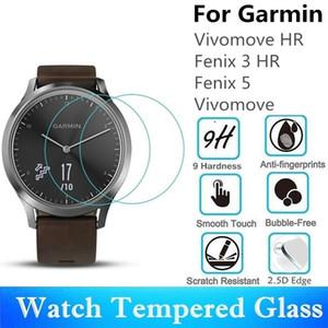 10 STÜCKE Gehärtetes Glas Für Garmin Fenix 5 Vivomove HR Runde Uhr Displayschutzfolie Fenix 3 HR Schutzfolie