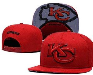 Спортивные головные уборы 2019 года для мужчин и женщин Snapbacks Бейсболки с застежкой с плоскими полями Ремень для вышивания Канзас-Сити HAT KC Cap Tide Фирменный шлем 03