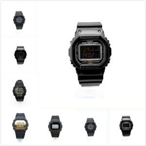 Casio Watch CASIO G-SHOCK 2020 al por menor de F-91W LED reloj deportivo de lujo relojes de oro de F-91W Acero Cinturón fino reloj electrónico F-91W Relojes