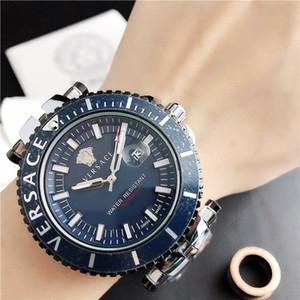 Mens relojes Tag reloj de diseño de lujo movimiento de cuarzo días fecha de los relojes de la manera del acero inoxidable del relogio masculino orologio di Lusso