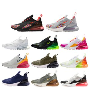 2019 New Max 270 Running Shoes for Mens CNY Rainbow Trainer Road Star BHM Iron Women Maxes 27C Sports Sneakers Size 36-45